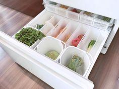 【セリア】こまった野菜室の収納をすっきり解決
