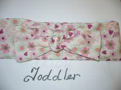 Toddler Headband Headscarf Headwrap Headband  by Goodtreasures123