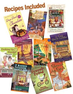 Cozy Mysteries that come with recipes found in the book