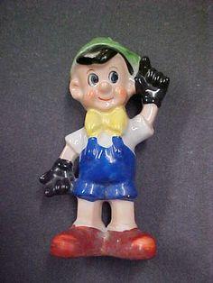 Occupied Japan Pinocchio Figurine   eBay