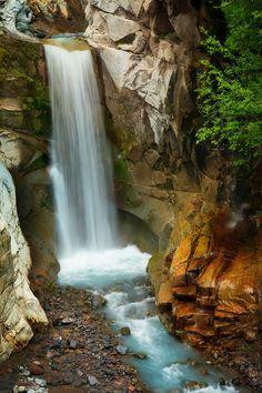 ✯ Christine Falls - Mount Rainier National Park, Washington