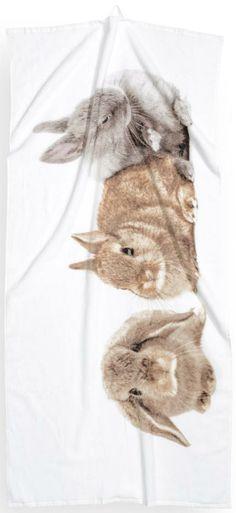 Bunny Towel @ H&M