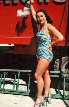 Aerial Ballet Showgirl, 1949