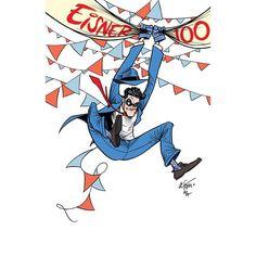 """451 Gostos, 7 Comentários - Gustavo Duarte (@_gustavoduarte) no Instagram: """"Will Eisner - 100 Years   Happy Birthday to my hero  #WillEisner #TheSpirit"""""""