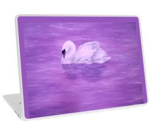 Laptop Skin,  unique,cool,fancy,beautiful,trendy,artistic,awesome,unusual,fashionable,accessories,gifts,presents,ideas,design,items,products,for,sale,purple,swan,lake,nature
