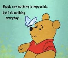 With pooh everything is possible.