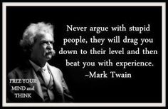 Just might be my favorite Mark Twain quote.