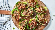 The next time you fancy a Thai takeaway, why not try Joe Wicks' tasty Thai turkey lettuce wraps instead? Bodycoach Recipes, Joe Wicks Recipes, Mince Recipes, Wrap Recipes, Turkey Recipes, Cooking Recipes, Healthy Recipes, Healthy Food, Pasta Recipes