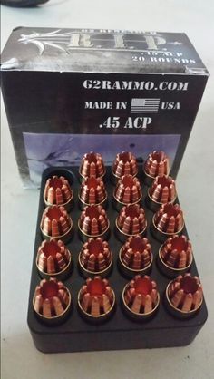The makers of the RIP personal defense rounds finally expanded beyond their 9mm and .380 variants to add a .45 caliber round. These are probably about the meanest rounds on the market.