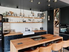 Kuchnia - projekt NYLOFT — HOUSE LOVES Conference Room, Table, Furniture, Home Decor, Decoration Home, Room Decor, Meeting Rooms, Home Furniture, Interior Design