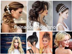 74 Ideas de Peinados para Bodas de todo tipos de cabellos y gustos Wedding Hairstyles, Dreadlocks, Hair Styles, Beauty, Stiles, Ideas, Jar, Celestial, Fashion