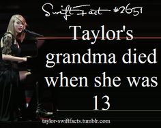 Mine died when I was She was such an inspiration to me, and helped me discover my talents and strenghts. I miss her so dearly. Selena And Taylor, All About Taylor Swift, Long Live Taylor Swift, Taylor Swift Concert, Taylor Swift Facts, Taylor Swift Quotes, Taylor Swift Pictures, Taylor Alison Swift, Queen Queen