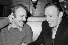 Bruno Ganz and Dennis Hopper