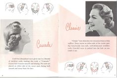 1955 hair setting instructions by thenoirkitten, via Flickr