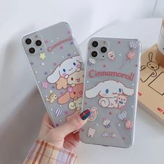 Bling Phone Cases, Pretty Iphone Cases, Iphone Phone Cases, Phone Covers, Cute Cases, Cute Phone Cases, My Melody Sanrio, Kawaii Phone Case, Aesthetic Phone Case