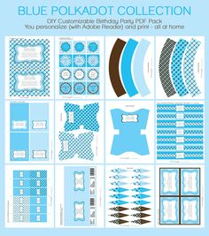 baby shower invitations for boys | BOY BABY SHOWER Invitation & Printable Party Collection
