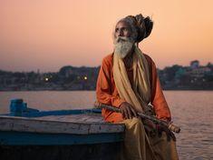 Portraits of Holy Men at the Ganga / Varanasi / Benares / Kashi Varanasi, Rishikesh, Brahmaputra River, Indian People, Indian River, North India, Hinduism, Portraits, Incredible India