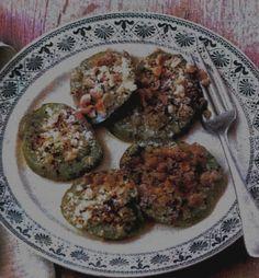 Top Five Green Tomato Treats - Deja Vue Designs Green Tomato Recipes, Green Tomatoes, Goodies, Lips, Favorite Recipes, Treats, Chicken, Cooking, Garden