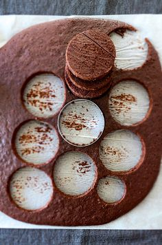 How to make The Easiest Mini Chocolate Cakes that have a bakery style look. Very moist chocolaty layers filled with whipped cream. Make these for special celebrations, nobody can resist these! | giverecipe.com |