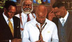 """Image detail for -. Afro-Kin Store - Black Religious Art, Religious African American Art """" Take your place, make a stand man of God"""" I must find this picture Black Love Art, My Black Is Beautiful, Beautiful Artwork, Simply Beautiful, Beautiful Images, African American Artwork, American Artists, Afrique Art, Vídeos Youtube"""