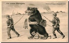 Image result for anti russian poster + bear