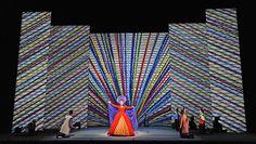 Jun Kaneko – Die Zauberflöte Mozart, Opera House in San Francisco Stage Design, Set Design, Lyric Opera, The Magic Flute, Mozart, Contemporary Ceramics, San Francisco, Decoration, Ceramic Art