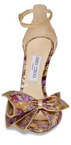 by Jimmy Choo Pretty Shoes, Beautiful Shoes, Cute Shoes, Me Too Shoes, Chic Chic, Dream Shoes, Crazy Shoes, Hot Heels, Kinds Of Shoes