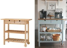 Get IKEA kitchen hacks to make a kitchen island, pantry, shelving, and more on Bon Appétit.
