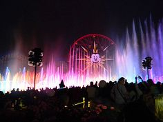 World of Color from Disney World Vets Point of View-worldofcolor by Enchanting Beginnings, via Flickr