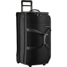 Briggs & Riley Large Upright Suitcase Duffle | Black