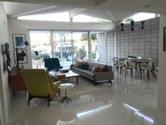 Canyon View Estates, Palm Springs, Palmer & Krisel 1963. Interiors by Tom Dolle