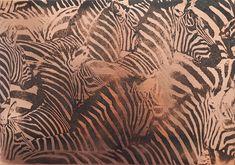 Zebra Herd Animal Print Rug, Copper, Rugs, Prints, Animals, Home Decor, Farmhouse Rugs, Animales, Decoration Home