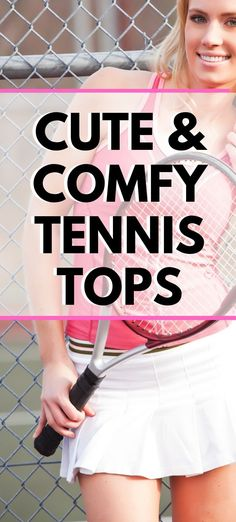 Are you looking for cute and comfy tennis tops to wear for tennis matches or practice? These tennis shirts and tanks will keep you cool on the court and are stylish for off the court as well. Tennis Tops, Tennis Match, Tennis Shirts, Play Tennis, Tennis Gear, Tennis Clothes, Open Back Workout Top, Cute Workout Tanks, Tennis Funny