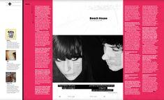 Música: Beach House #MinimalDesign #Minimal #RevistaMarvin #Marvin #ArtDirection #Magazine #EditorialDesign #Editorial #GraphicDesign #BienSadBienSexy #SoSadSoSexy #BeachHouse