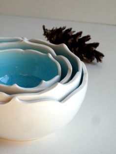 Cool bowls for serving or decorating
