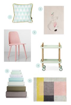 Decorating with Pastels | minted.com/julep