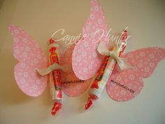 Baby Shower Favors: Smarties Favors