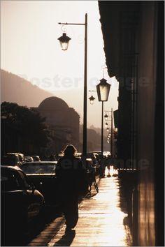 Guatemala, Antigua. Street scene.: Poster & Kunstdruck von John & Lisa Merrill