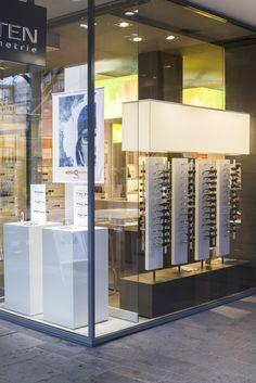 Optometry Office, Glasses Shop, Electronic Shop, Optical Shop, Retail Store Design, Visual Merchandising, Eyewear, House Design, Interior Design