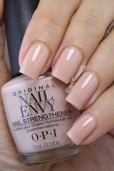OPI Samoan Sand. Love the colour, hate the nail shape!