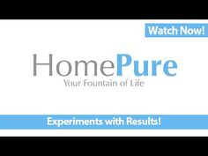 HomePure: Experience the Difference in Your Drinking Water [QNET]