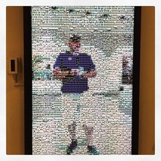 """""""A live interactive selfie made up of thousands of individual portraits. Museum Photography, Interactive Installation, Human Connection, San Diego, Modern Art, Pop Art, Reflection, Portraits, Selfie"""