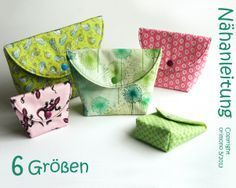 Sew on 20 minutes bag orimono – sewing instructions cosmetic bag - Upcycled Crafts Upcycled Crafts, Sewing Crafts, Sewing Projects, Diy Bags Purses, Diy Mode, Creation Couture, Quilted Bag, Love Sewing, Small Bags