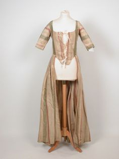 Gown National Trust Inventory Number 1360760 Date1770 MaterialsSilk CollectionKillerton, Devon (Accredited Museum)