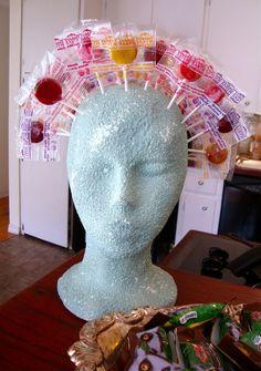 lollipop head, from brasspaperclip