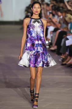 Prabal Gurung S/S 2012 cute outfit and look at those shoes! awesome
