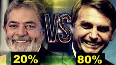 Lula é derrotado Ao Vivo por Bolsonaro em pesquisa eleitoral feita no SBT.