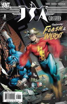 DC Comics JSA Classified Variant Covers Adam Hughes and Printing for sale online Comic Book Covers, Comic Books Art, Comic Art, Book Art, Superman, Batman, Gi Joe, Justice Society Of America, Ride The Lightning