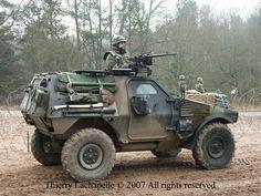 Pandur VBL Patrol-Vehicle