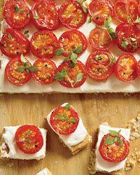 Tomato Tartlets Recipe on Food & Wine